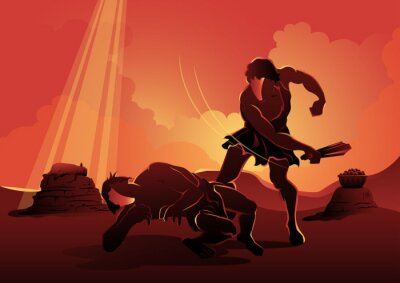 Bild Cain and Abel Bible Story