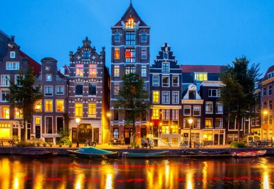 Bild Canals of Amsterdam.