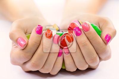 Candy in Händen