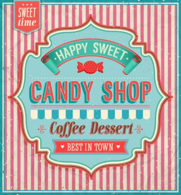 Bild Candy shop - Vektor-Illustration