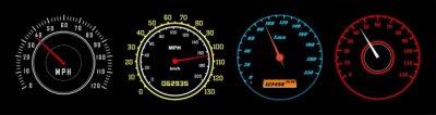 Bild car speedometer vector