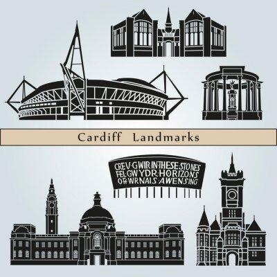 Bild Cardiff landmarks and monuments