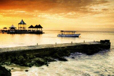 Bild Caribbean Sunset