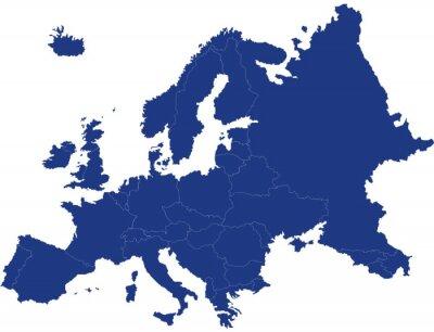 Bild Carte d'europe