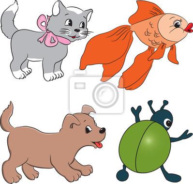 Beste Cartoon Tiere Zu Färben Bilder - Framing Malvorlagen ...