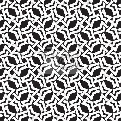 Celtic Kettenhemd. Nahtlose Muster von sich kreuzenden Polygone mit Farbfeld für die Füllung. Fashion geometrischen Hintergrund für Web oder Print-Design.