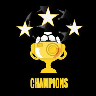 Bild Champion Sport-Liga-Logo, Emblem, Abzeichen.