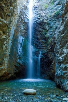 Bild Chantara Wasserfälle in Trodos Berge, Zypern