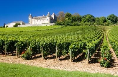 Chateau de rully with vineyards burgundy france gem lde f r die wand bilder saone schl sser - The splendid transformation of a vineyard in burgundy ...