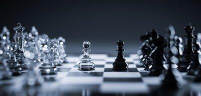 Bild Chess game. Strategic desicion making. Plan and competition