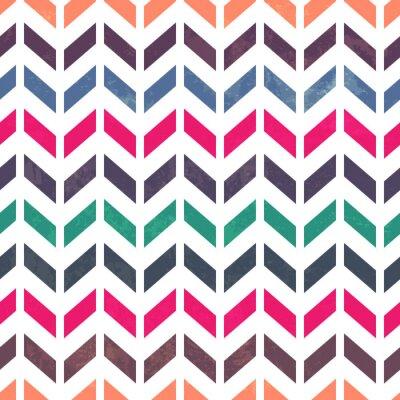 Bild Chevron Muster. Bunt, grunge und nahtlos. Grunge-Effekte c