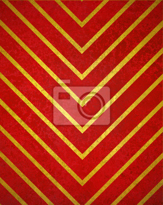 Bild chevron striped background pattern, red gold background of thick and thin zig zag lines, abstract angles and diagonal shapes design element