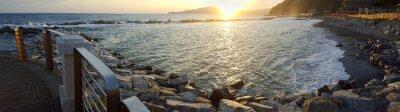 Bild Chiavari Strand Panoramablick