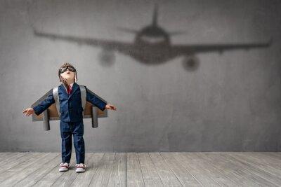 Bild Child dreams of becoming a pilot