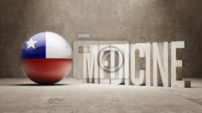Chile. Medizin-Konzept.