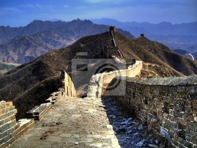 Bild china, great wall @ simatai