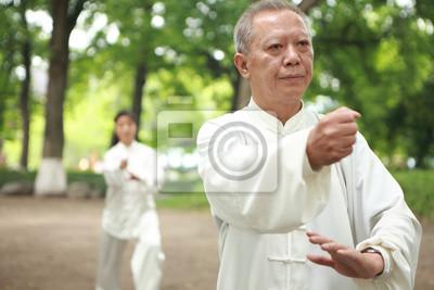 Chinesen außerhalb taichi