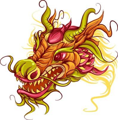 Bild Chinesischer Drache-Kopf