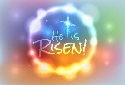 Bild Christian Ostern Auferstandenen Illustration