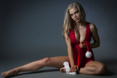 Bild Christmas Girl