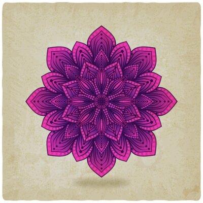 Bild circular pattern mandala old background