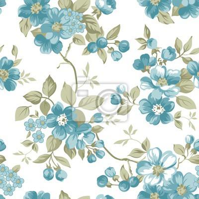 Clair Blumen Nahtlose Muster