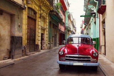 Bild Classic old car on streets of Havana, Cuba