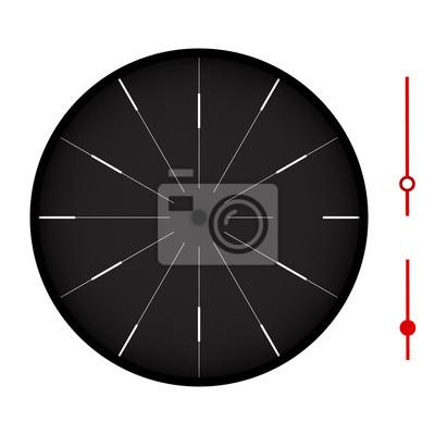 Clock isoliert