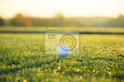 Close-up der Golfball.