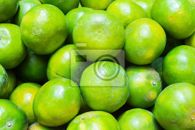 Bild close up grün orange