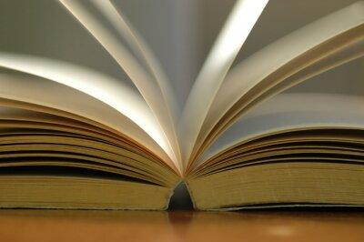 Bild Closeup geöffneten Buch