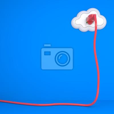 Cloud Computing-Konzept.
