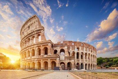 Bild Coliseum or Flavian Amphitheatre (Amphitheatrum Flavium or Colosseo), Rome, Italy.