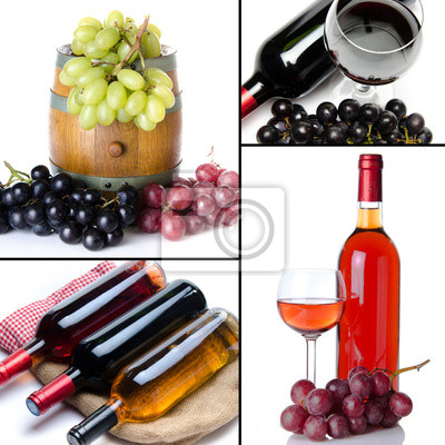 Bild Collage of wine