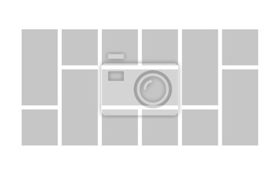 Bild Collage template frames. Vector
