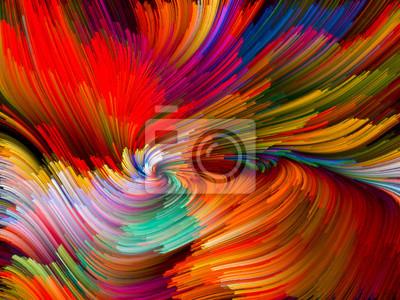 Bild Color Vortex Composition