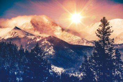 Bild Colorado Mountains Vista