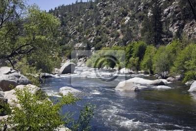 Colorado River in den USA. Horizontale gedreht