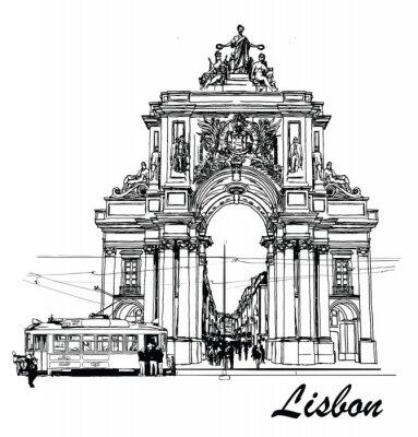 Bild Commerce-Platz in Lissabon