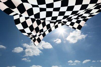 Bild Composite-Bild von Zielflagge
