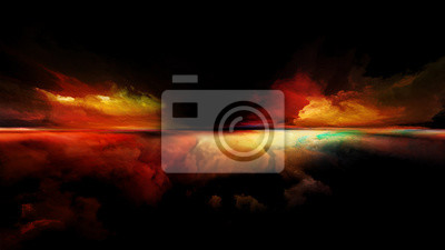 Bild Computing Sunset
