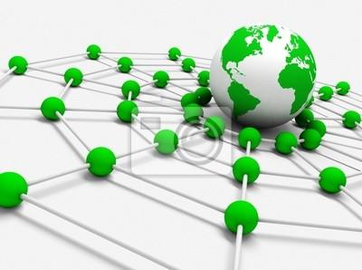concepto de trabajo en roten con bola del mundo