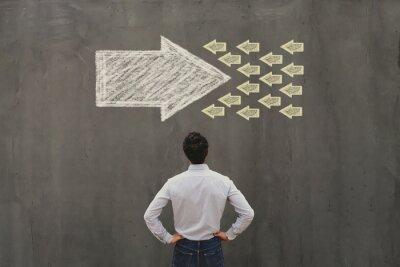 Bild conflict of interest or confrontation, change concept, opposition