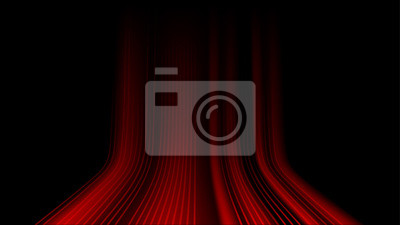 Bild Connection red speed line abstract background