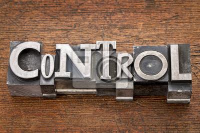Bild control word in metal type