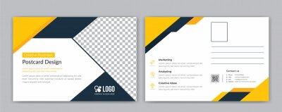Bild Corporate postcard template