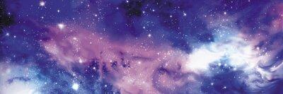 Bild Cosmos Banner mit Sternen
