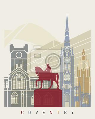 Bild Coventry Skyline Poster