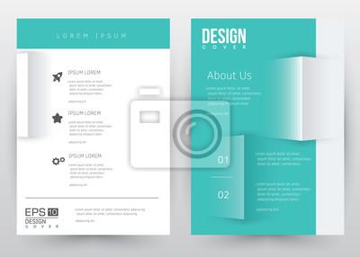 bild cover design vector vorlage set broschre jahresbericht magazin poster firmenprsentation - Firmenprasentation Muster