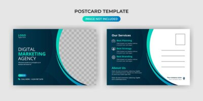 Bild Creative corporate business Modern postcard EDDM design template